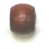Wood Crowbeads 6/4.5mm Dark Brown